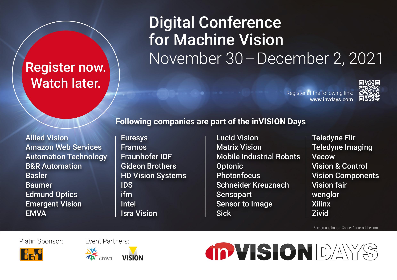 inVISION Days Konferenz mit Keyplayern der Branche