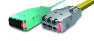 Das High-Density-System H.D.S. von EasyLan basiert auf kompakten 6-Port-Modulen an Trunk-Kabeln. Eine LED rechts von den Anschlüssen leuchtet auf, wenn der Anwender am anderen Ende der Leitung einen Detektor anschließt. (Bild: ZVK GmbH)