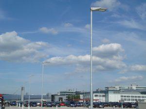 Energieeffiziente Parkhausbeleuchtung