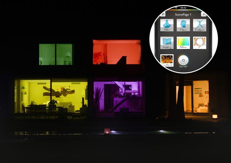 Digitale Lichtlösung hue: