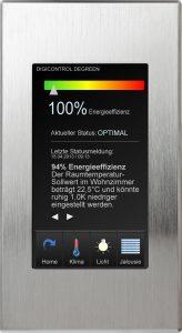 Touch panel R4D.RT7 mit Digicontrol Degreen (Bild: GFR - Gesellschaft für Regelungstechnik Energieeinsparung mbH)