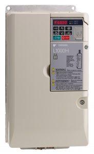 Der Frequenzumrichter L1000H von Yaskawa wurde speziell für Anwendungen in Hydraulik-Liften entwickelt (Bild: Yaskawa Europe GmbH)