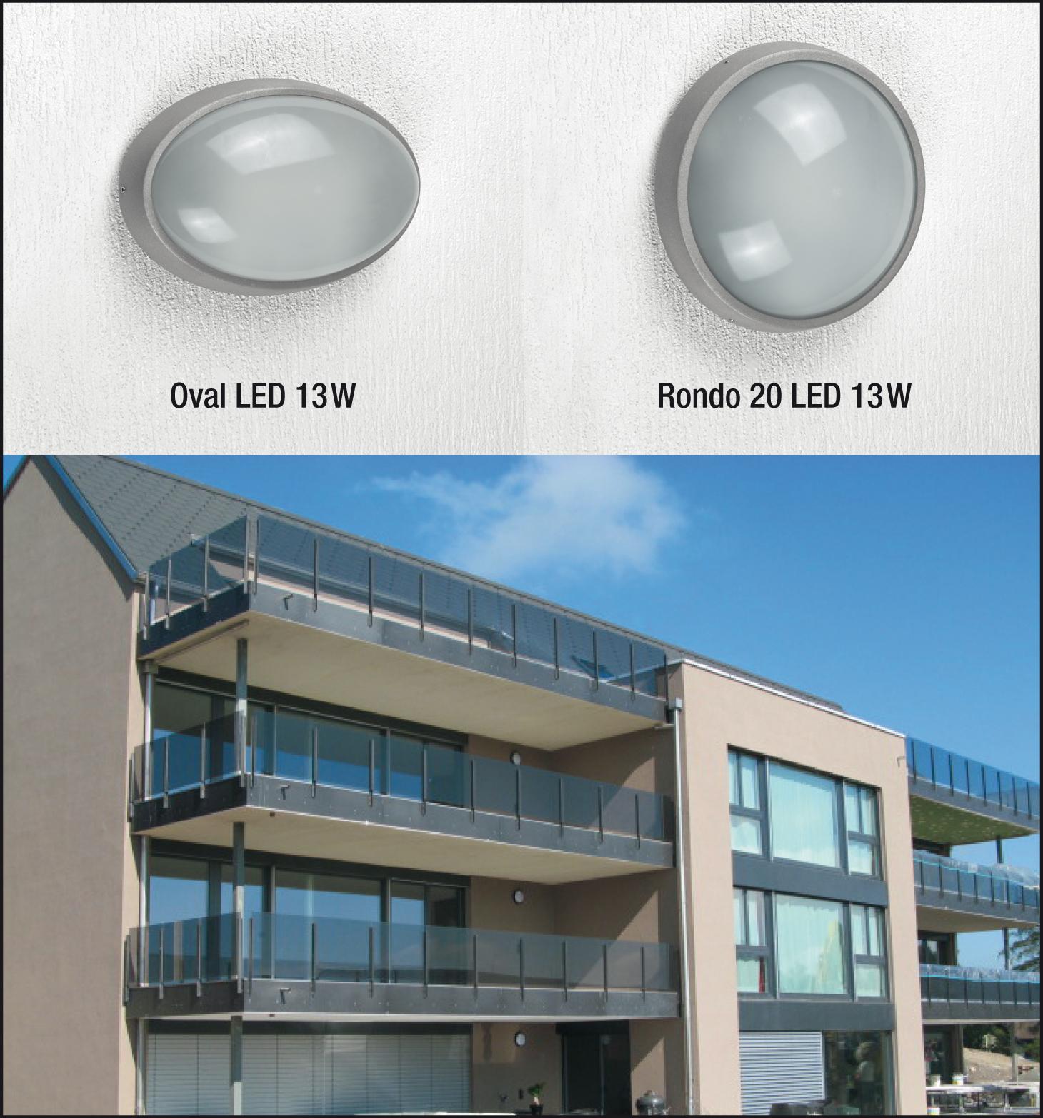 Energieeffiziente LED-Außenleuchten IP65