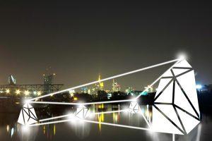Installationen im öffentlichen Raum des Hafen Offenbach von werkbund.jung (Bild: Messe Frankfurt Exhibition GmbH)