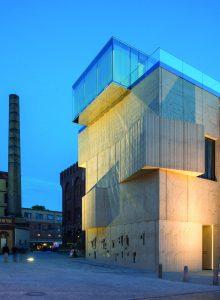Spektakulär: Das Museum für Architekturzeichnung der Moskauer Architekten Speech Tchoban & Kuznetsov am Pfefferberg in Berlin (Bilder: Linus Lintner, Berlin)