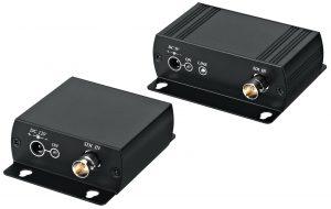Repeater und 4-fach-Splitter - kleine Boxen mit großem Effekt (Bild: Monacor International GmbH)