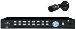 8-Kanal-Recorder und HD-SDI-Miniatur-Kamera (Bild: Monacor International GmbH)