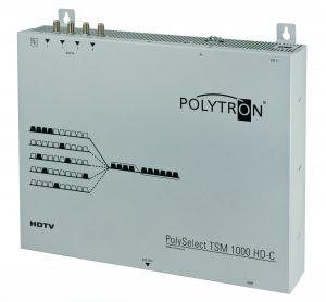 Mit den neuen Komfort-Versionen TSM 1000 HD-C und TSM 1000 HD-CF hat Polytron die Installation und Programmierung des Geräts vereinfacht. Die Installation der Anlage geht jetzt noch schneller und einfacher. (Polytron-Vertrieb GmbH)