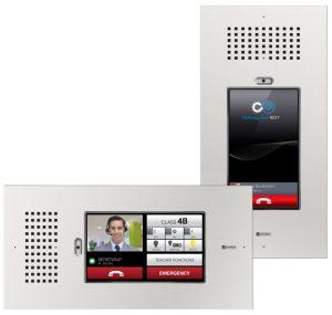 Bewegter im stoßsicheren Gewand: Das von Schneider Intercom vertriebene Intercom Touch bringt die sichere Gebäudekommunikation auf ein neues Level. (Bild: Schneider Intercom GmbH)