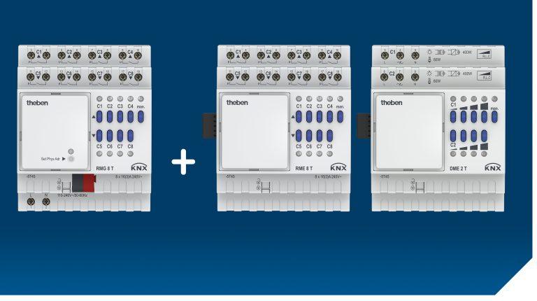 Modulares KNX-Aktorenprogramm