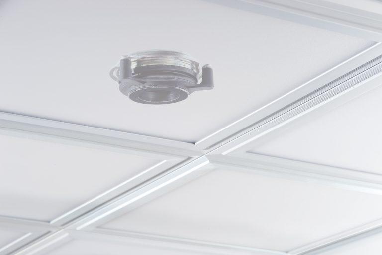 LED-Akustikpanel: Beleuchtung mit gutem Klang