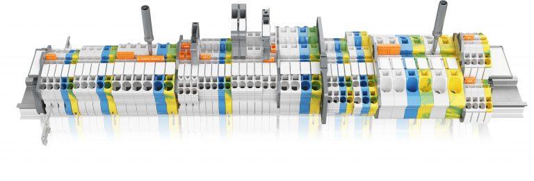 Reihenklemmen mit Push-In-Feder-Anschlusstechnik