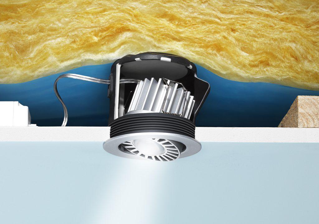 Innovative LED-Installation