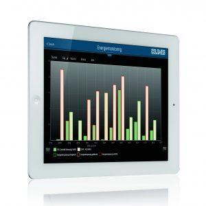 Die Visualisierung eNet Home schafft Überblick und Komfort. (Bild: Albrecht Jung GmbH & Co. KG)