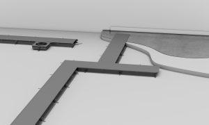 Große Flexibilität durch dauerhaft abnehmbare Kanaldeckel (Bild: Hager Vertriebsgesellschaft mbH & Co. KG)