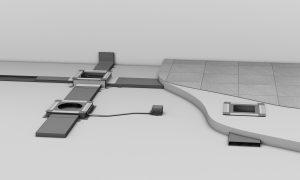 Für die Flexible Erschließung von Räumen über den Boden im Neubau (Bild: Hager Vertriebsgesellschaft mbH & Co. KG)