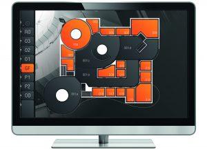 Durch die Integration heterogener Gebäudeautomationssysteme in die Gebäudeleittechnik lassen sich zentrale Managementfunktionen, z.B. eine zentrale Visualisierung, anstelle von mehreren Visualisierungen pro System, einfacher realisieren. (Bild: NETxAutomation Software GmbH)
