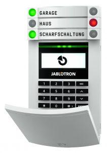 Einfache Bedienung dank komfortabler Ampellogik: JA-154E (Bild: Monacor International GmbH)
