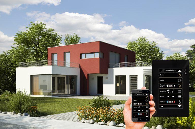 Bedienoberfläche für Touchpanel und Smartphone automatisch erstellt