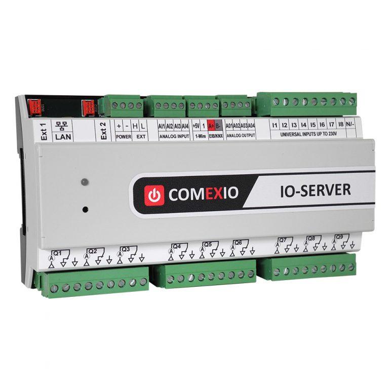 IO-Server mit 1-Wire und EIB/KNX-Schnittstelle