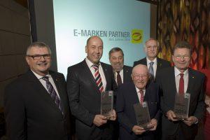 Gewinner der E-Markenpartnerpreise 2014 geehrt