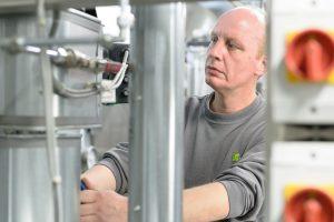 Regelmäßig müssen die RLT-Anlagen gründlich inspiziert werden. (Bild: WISAG Facility Service Holding GmbH & Co. KG)