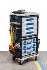 WorkMo - die mobile Arbeitsstation. (Bild: Sortimo International GmbH)
