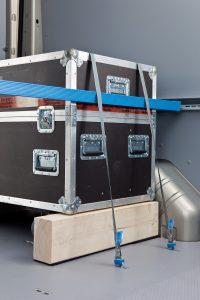ProSafe ist das Ladungssicherungssystem von Sortimo, das in den Einrichtungen und im Boden integriert ist. (Bild: Sortimo International GmbH)