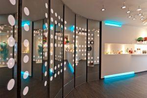 Die Siemens-Lösung für nmd- Licht am Bau steuert die Beleuchtung und per KNX Jalousien, Multimediaanlagen, Heizung, Belüftung sowie die Sicherheitstechnik gewerkeübergreifend und bedarfsgerecht. (Bild: nmd-Licht am Bau GmbH)