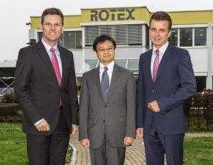 Geschäftsführungswechsel bei Rotex
