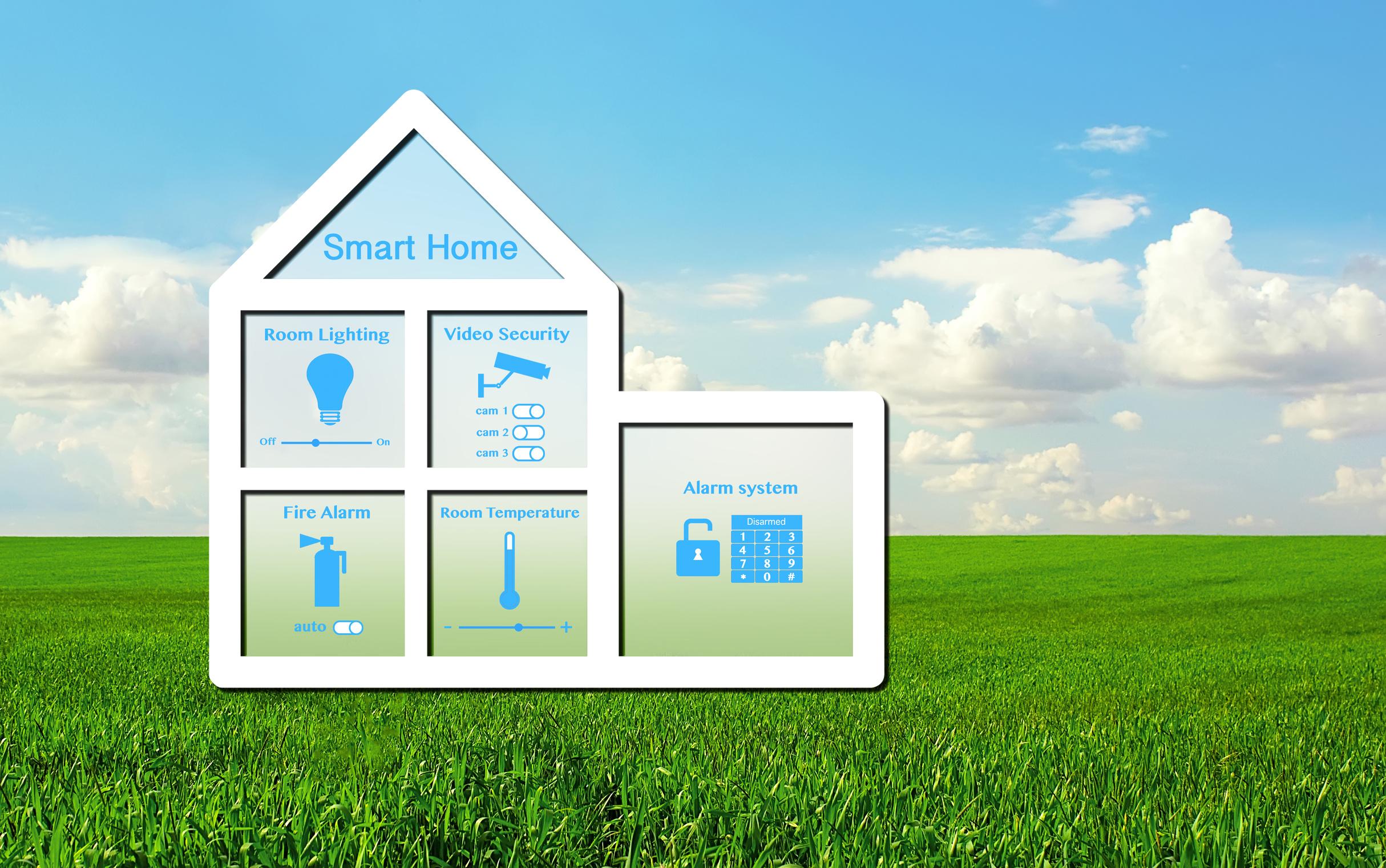 normung schl ssel zum smart home geb udedigital. Black Bedroom Furniture Sets. Home Design Ideas