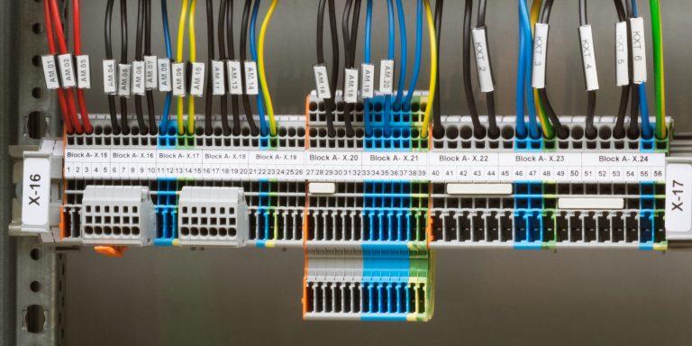Beschriftung der Elektroinstallation