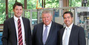 Christian Metz, Albert Metz und Jochen Metz (Bild: METZ CONNECT GmbH)