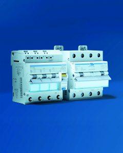 Der FI/LS Schalter 3 x 1-polig + N ist optimal geeignet für Installationen im Wohnbau. (Bild: Hager Vertriebsgesellschaft mbH & Co. KG)