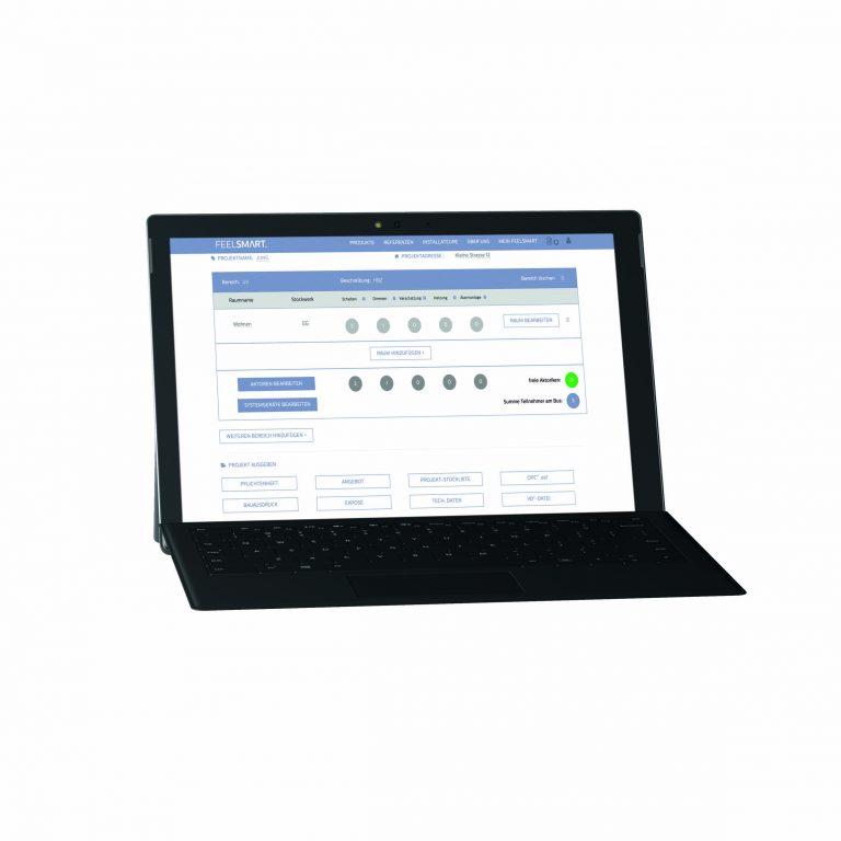 Zentrale Web-Plattform für Smart Home-Lösungen Projekte planen und erfolgreich umsetzen