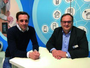 Die Entwickler und Geschäftsführer von Feelsmart.:  Dominik Kortmann und Willian Vent (v.l.). (Bild: Feelsmart GmbH)
