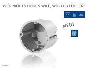 Zertifizierte Schallschutzdosen