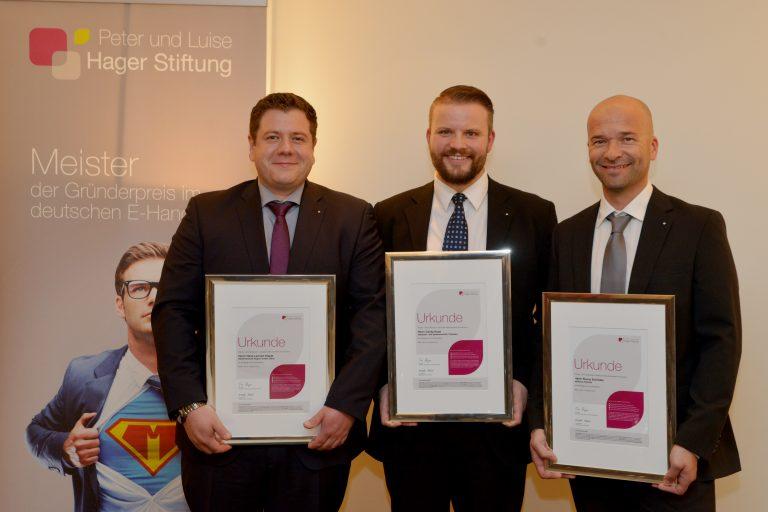 Neuer Gründerpreis im deutschen Elektrohandwerk verliehen