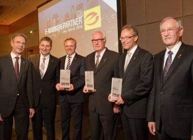 Gewinner der E-Markenpartnerpreise 2016 gekürt