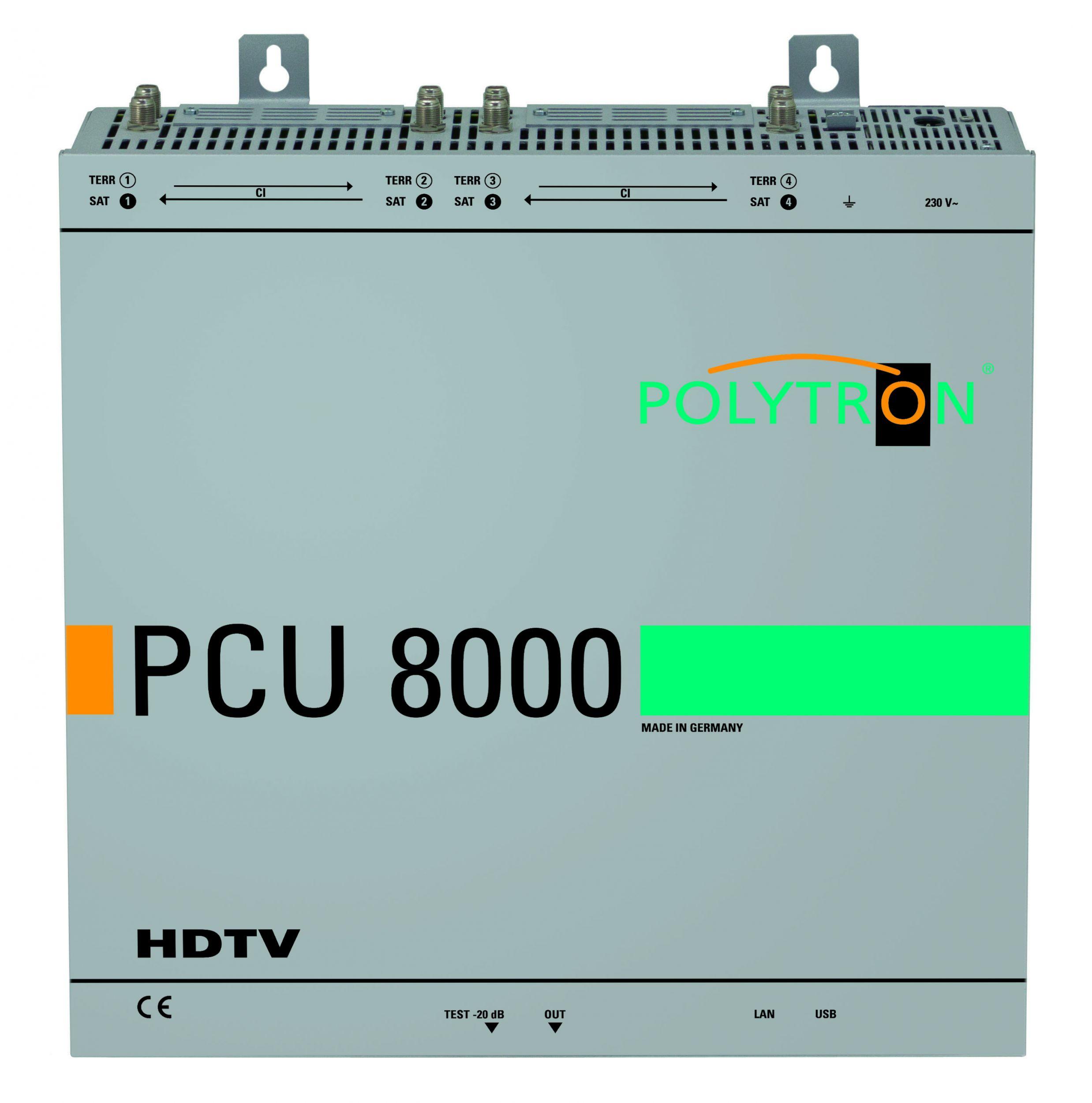 Kompakte HDTV-Kopfstellen