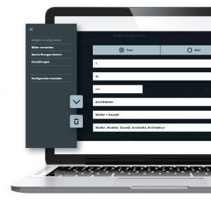 Die Inbetriebnahme oder auch Konfiguration der Türstation geschieht per Web-Interface über PC oder Laptop und ist einfach zu handhaben. Die Konfiguration ist optional auch direkt an der Türstation möglich. (Bild: SKS-Kinkel Elektronik GmbH)