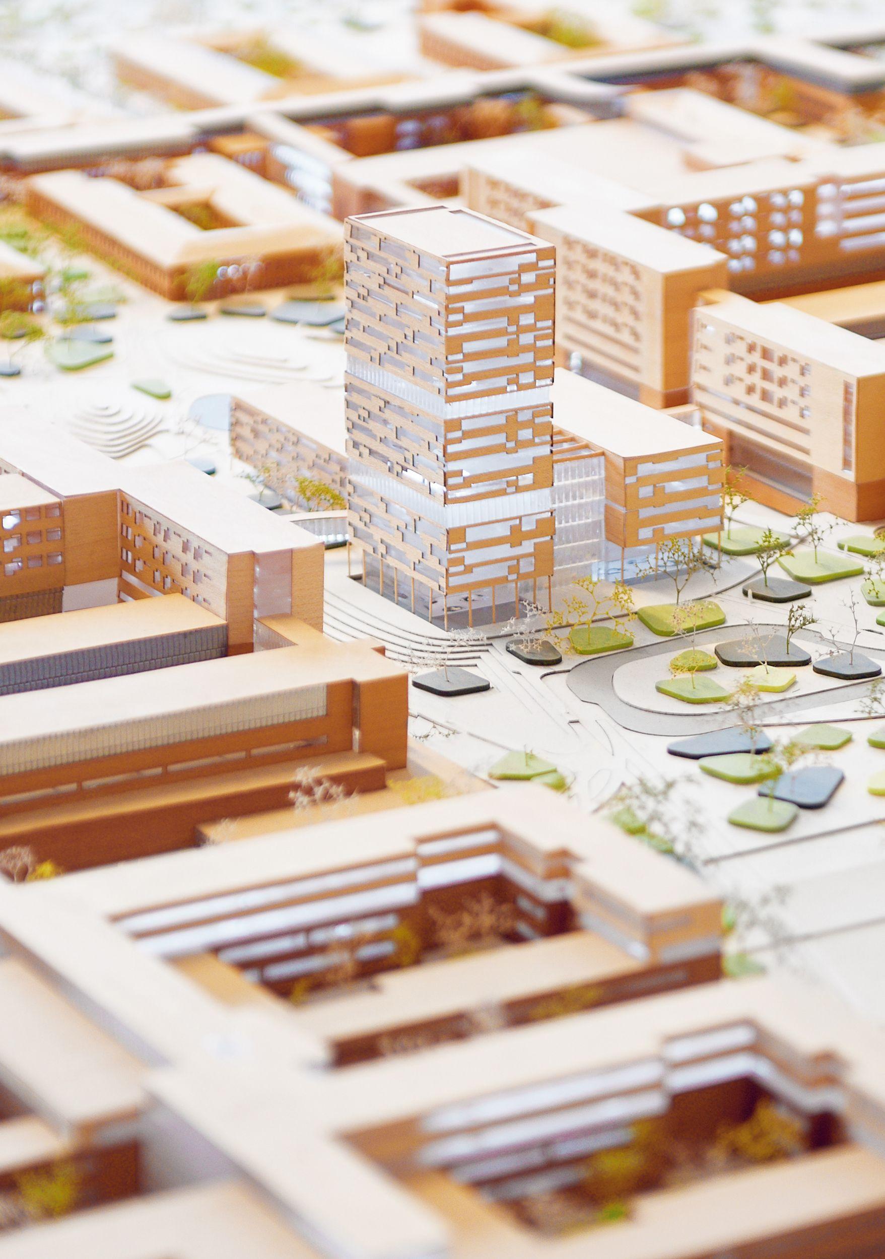 Gebäudekommunikation für Großprojekte
