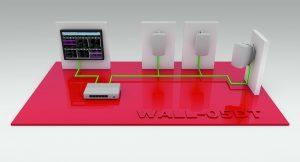 Wall-PC mit Dante DVS und Controller-Software sowie Musik-Streaming-Software und WALL-05DT. (Bild: Monacor International GmbH & Co. KG)