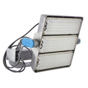 ArenaVison LED-Flutlichtscheinwerfer schaffen beste Voraussetzungen, um auch feinste Details des Wettkampfs und jede kleinste Emotion der Spieler auf dem Platz in bester Qualität zu übertragen (Bild: Philips Lighting GmbH)