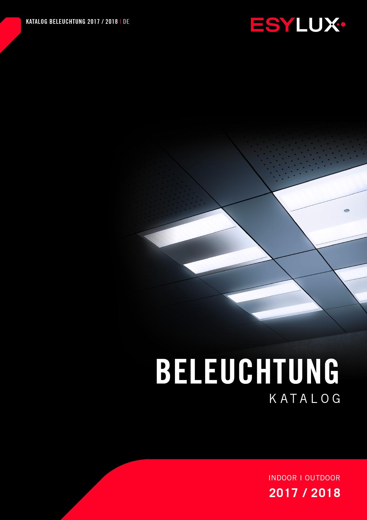 Katalog Beleuchtung 2017 / 2018
