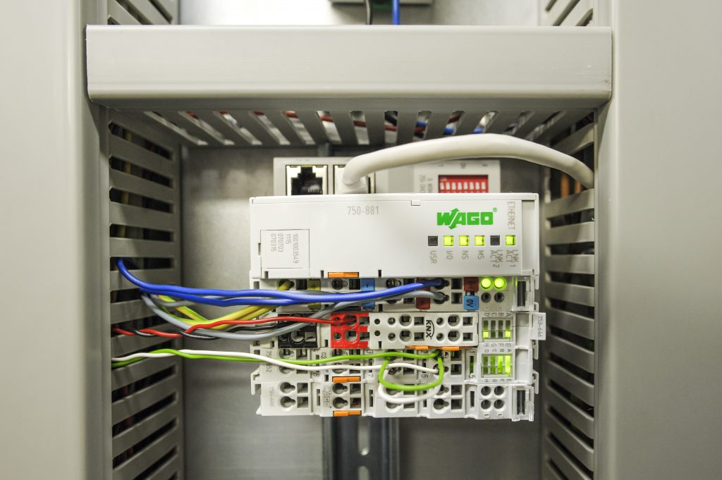 Das eingesetzte Wago-I/O-System 750 ist besonders platzsparend und verf?gt über eine sehr große Zahl an Schnittstellen. (Bild: Wago Kontakttechnik GmbH & Co. KG)