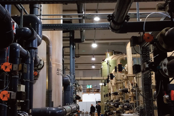 Industriebeleuchtung bei starker Hallenverschmutzung