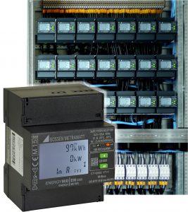 Einzigartiger Funktionsumfang auf 4 TE Breite: Der Energiez?hler Energymid von Gossen Metrawatt (Bild: GMC-I Messtechnik GmbH)