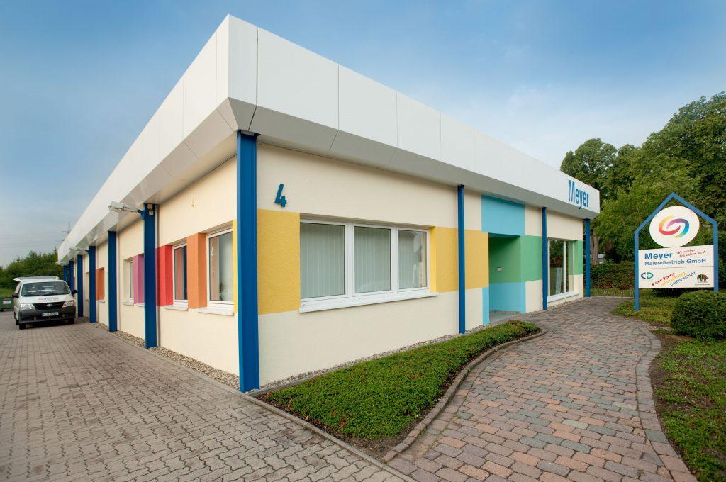 ?Wir machen das Leben bunt? ist das Motto der Meyer Malereibetrieb GmbH im nieders?chsischen Lehrte (Bild: Flir Systems GmbH)