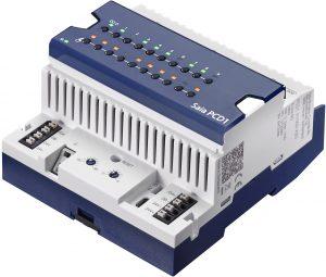 Die Br?ckenstecker der neuen S-Serie von SBC erm?glichen eine einfache und schnelle Installation der E-Line Remote I/O Module. (Bild: Saia-Burgess Controls AG)